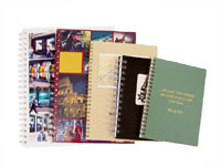 full color spiral notebooks