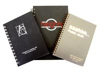 ASSORTED HARDCOVER NOTEBOOKS
